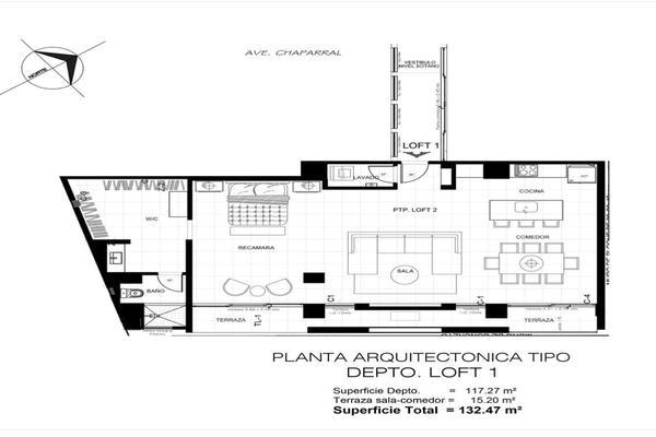 Foto de departamento en venta en privada parral , jardines de chapultepec, tijuana, baja california, 19128893 No. 03