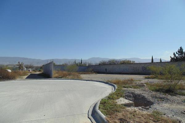 Foto de terreno habitacional en venta en privada sin nombre lote 8, los gonzález, saltillo, coahuila de zaragoza, 9935145 No. 01