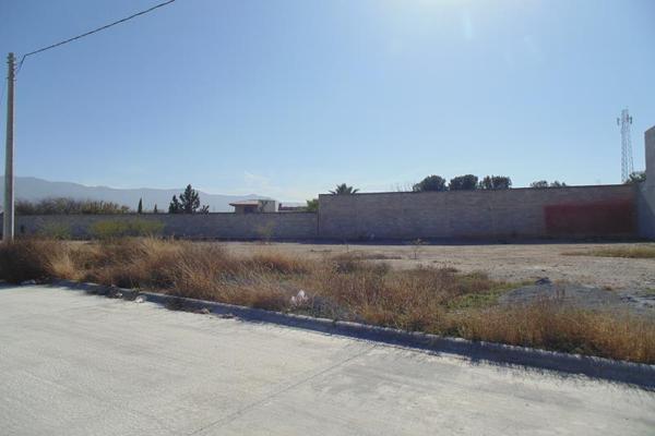 Foto de terreno habitacional en venta en privada sin nombre lote 8, los gonzález, saltillo, coahuila de zaragoza, 9935145 No. 02