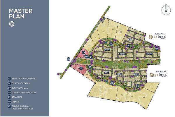 Foto de terreno habitacional en venta en privada soluna , temozon norte, mérida, yucatán, 6136985 No. 04