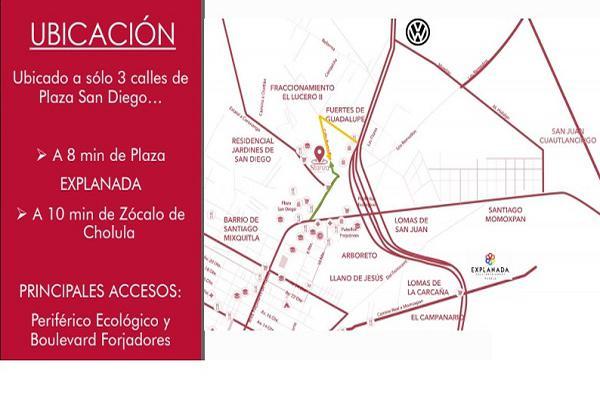 Foto de terreno habitacional en venta en privada tlaxcala , fuerte de guadalupe, cuautlancingo, puebla, 10222421 No. 03