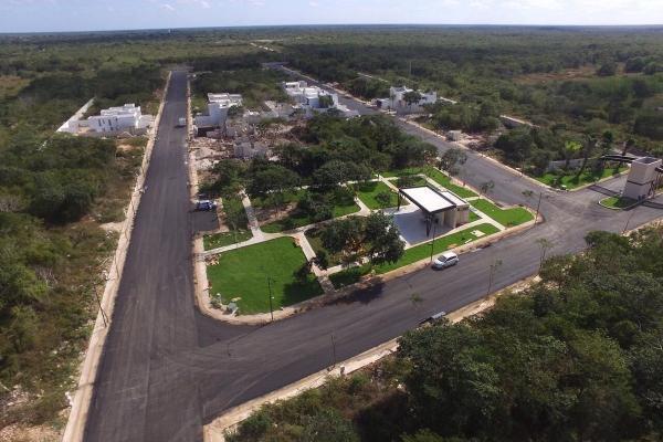 Foto de terreno habitacional en venta en privada zelena , verde limón conkal, conkal, yucatán, 3729820 No. 01
