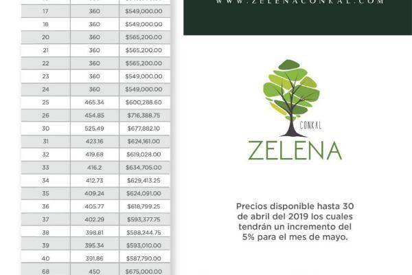 Foto de terreno habitacional en venta en privada zelena , verde limón conkal, conkal, yucatán, 3729820 No. 08
