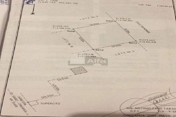 Foto de terreno comercial en venta en prof. leticia palma , ocampo o torreón, chihuahua, chihuahua, 5713273 No. 09