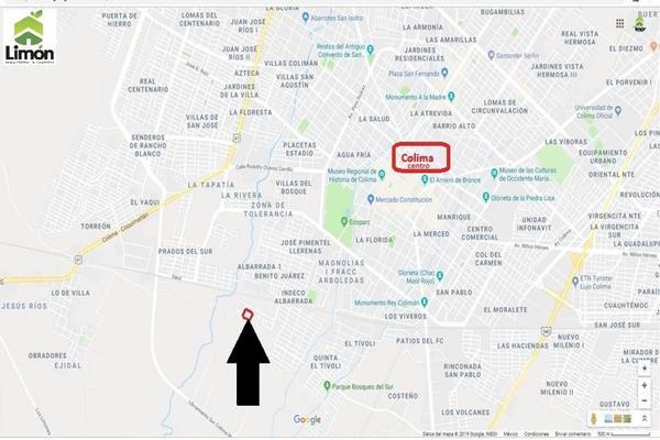 Foto de terreno habitacional en venta en profesor diego peregrina , villas del sur, colima, colima, 0 No. 03