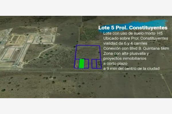 Foto de terreno comercial en venta en prolongación constituyentes 01, constituyentes, querétaro, querétaro, 7950565 No. 02