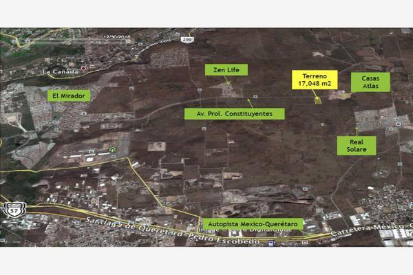 Foto de terreno habitacional en venta en prolongación constituyentes , parque industrial el marqués, el marqués, querétaro, 10096751 No. 01