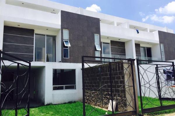 Foto de casa en venta en prolongacion de la 12 norte 2409, la carcaña, san pedro cholula, puebla, 5408110 No. 01