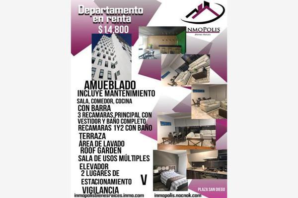 Foto de departamento en renta en prolongación de la 6 norte 3803, villas san diego, san pedro cholula, puebla, 0 No. 01