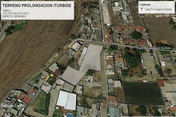Foto de terreno comercial en venta en prolongacion iturbide , san francisco coacalco (cabecera municipal), coacalco de berriozábal, méxico, 18525078 No. 01