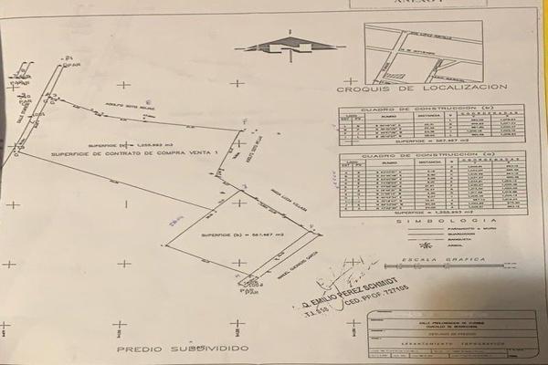 Foto de terreno comercial en venta en prolongacion iturbide , san francisco coacalco (cabecera municipal), coacalco de berriozábal, méxico, 18525078 No. 02