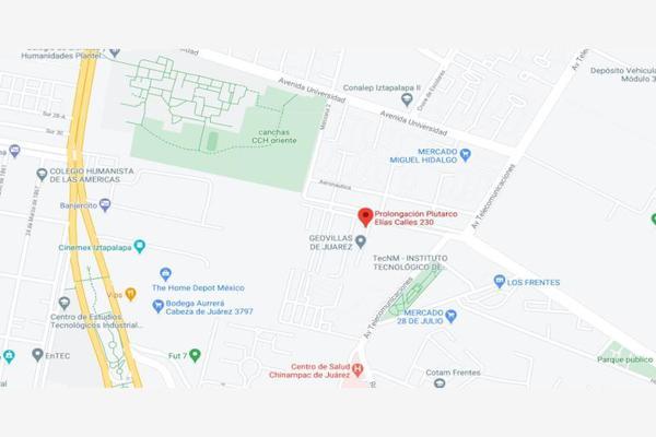 Foto de departamento en venta en prolongación plutarco elías calles 230, chinampac de juárez, iztapalapa, df / cdmx, 16885455 No. 06
