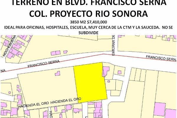 Foto de terreno comercial en venta en  , proyecto rio sonora, hermosillo, sonora, 3141192 No. 01