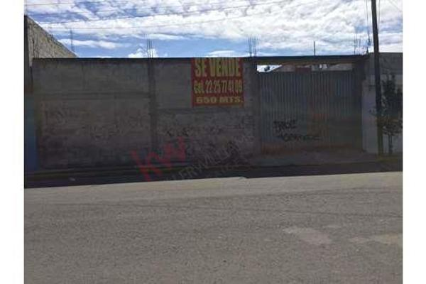 Foto de terreno habitacional en venta en  , puebla, puebla, puebla, 8858340 No. 01