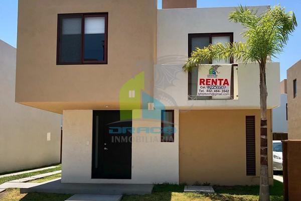 Foto de casa en renta en puerta real , corregidora, querétaro, querétaro, 5367841 No. 01