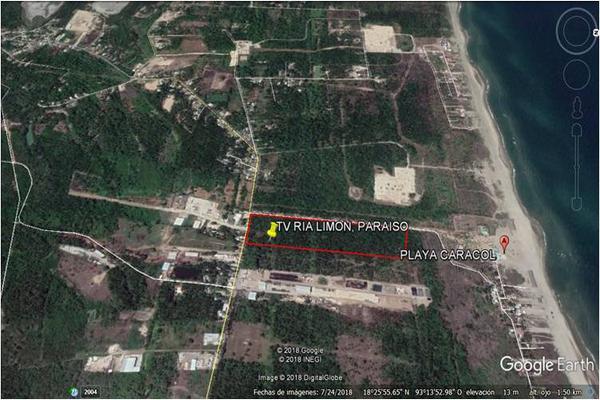 Foto de terreno comercial en venta en puerto 2 bocas , el limón, paraíso, tabasco, 5339598 No. 03