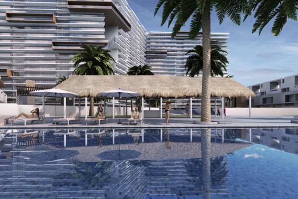 Foto de departamento en venta en puerto cancun f-1605-1606 t1 , supermanzana 5 centro, benito juárez, quintana roo, 6173715 No. 01