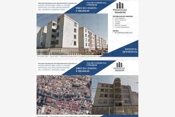 Foto de departamento en venta en puerto oporto 64, ampliación san juan de aragón, gustavo a. madero, df / cdmx, 16313293 No. 01