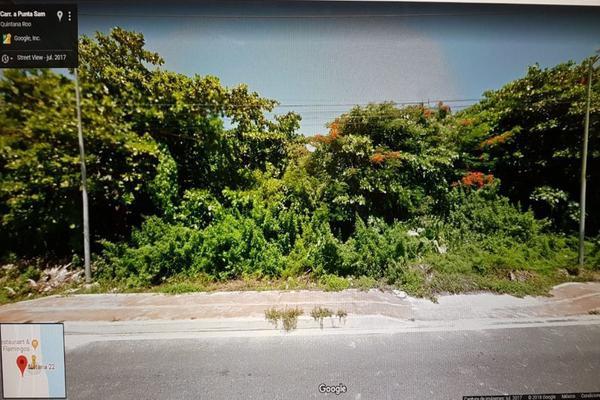 Foto de terreno habitacional en venta en  , punta sam, benito juárez, quintana roo, 15958429 No. 12