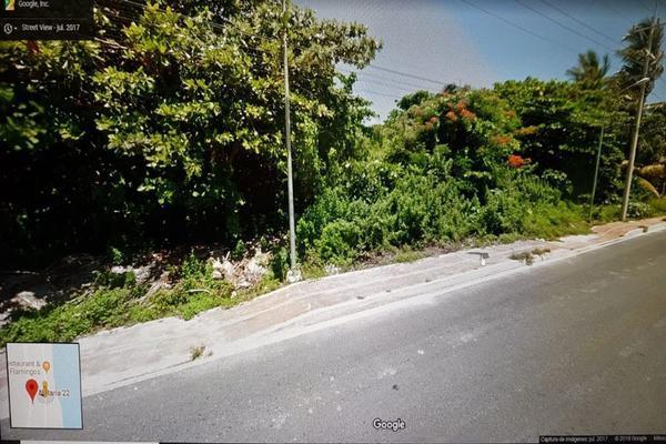 Foto de terreno habitacional en venta en  , punta sam, benito juárez, quintana roo, 15958429 No. 15