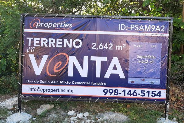 Foto de terreno habitacional en venta en  , punta sam, benito juárez, quintana roo, 9941906 No. 04
