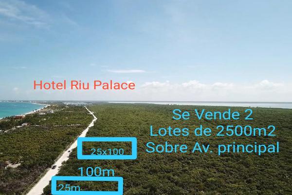 Foto de terreno habitacional en venta en punta sam fraccionamiento francisco javier 1 , costa del mar, benito juárez, quintana roo, 20404736 No. 04