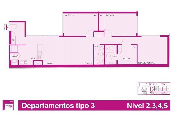 Foto de departamento en venta en querétaro , roma norte, cuauhtémoc, df / cdmx, 5843999 No. 12
