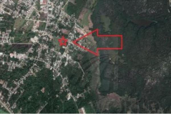 Foto de terreno habitacional en venta en  , quintín arauz, paraíso, tabasco, 5900620 No. 01