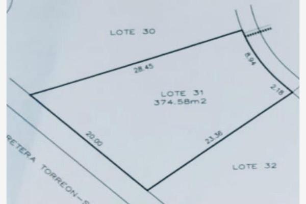 Foto de terreno habitacional en venta en racimos 31, los viñedos, torreón, coahuila de zaragoza, 19399147 No. 03