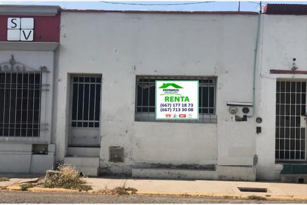 Foto de casa en renta en rafael buelna donato/riva palacio, centro, culiacán, sinaloa, 8391548 No. 01