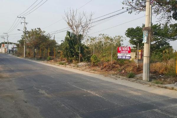 Foto de terreno comercial en renta en  , raíces, carmen, campeche, 2644857 No. 01