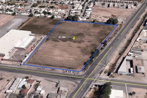 Foto de terreno habitacional en venta en ramon rayon esquina manuel j. clouhtier , bosques de waterfil, juárez, chihuahua, 3352658 No. 01