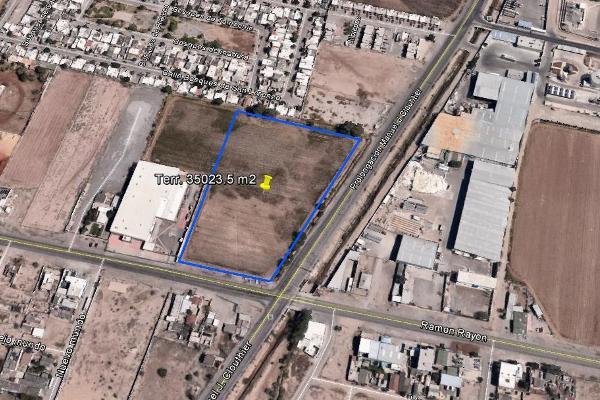 Foto de terreno habitacional en venta en ramon rayon esquina manuel j. clouhtier , bosques de waterfil, juárez, chihuahua, 3352658 No. 02