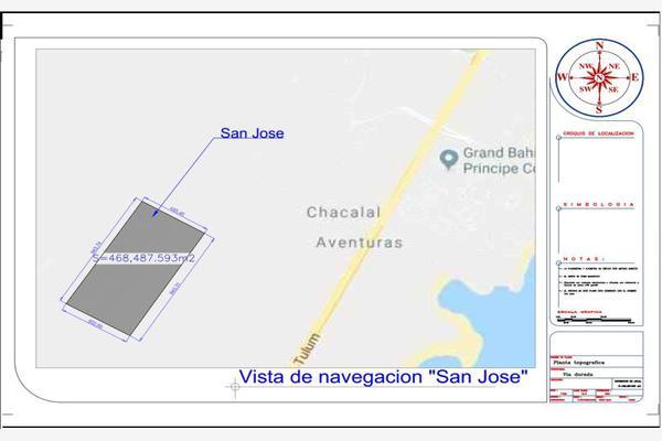 Foto de terreno habitacional en venta en rancho san jose a/n, san juan, tulum, quintana roo, 10031729 No. 01