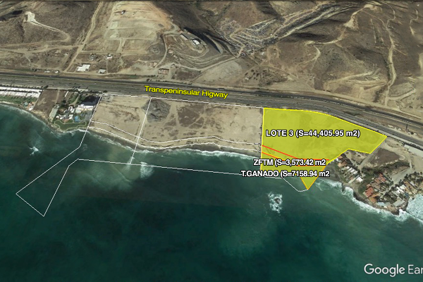Foto de terreno habitacional en venta en rancho santini , popotla, playas de rosarito, baja california, 3158811 No. 01