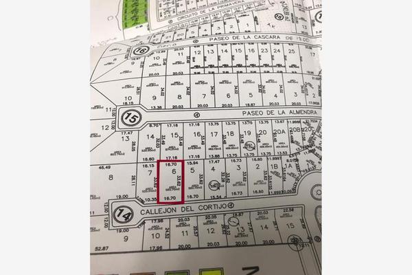 Foto de terreno habitacional en venta en  , real del nogalar, torreón, coahuila de zaragoza, 16276430 No. 02