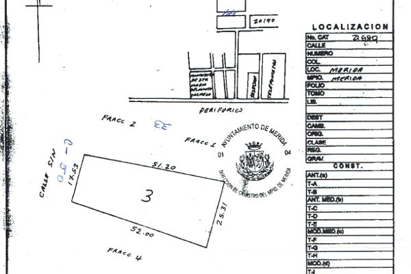 Foto de terreno comercial en venta en  , real montejo, mérida, yucatán, 2642797 No. 01