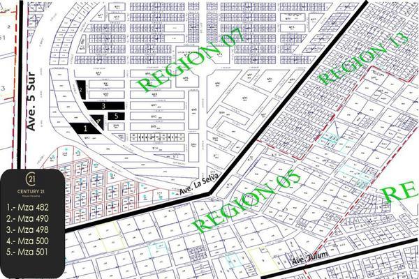 Foto de terreno habitacional en venta en region 7 tumbenkah cerca de la 5ta avenida , tulum centro, tulum, quintana roo, 10249826 No. 01