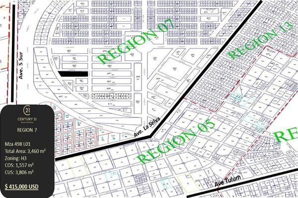 Foto de terreno habitacional en venta en region 7 tumbenkah cerca de la 5ta avenida , tulum centro, tulum, quintana roo, 10249826 No. 09