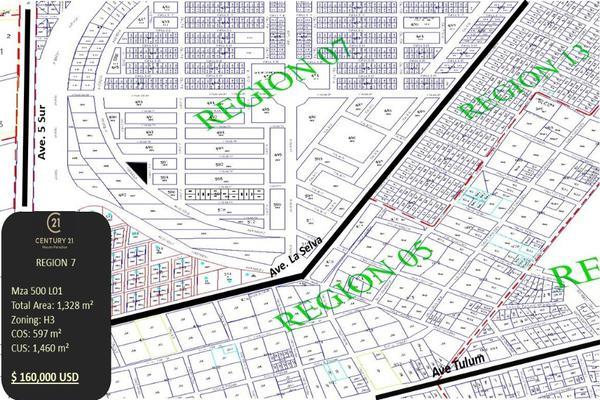 Foto de terreno habitacional en venta en region 7 tumbenkah cerca de la 5ta avenida , tulum centro, tulum, quintana roo, 10249826 No. 10