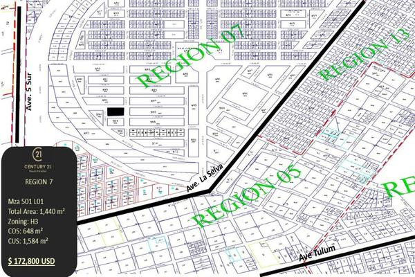 Foto de terreno habitacional en venta en region 7 tumbenkah cerca de la 5ta avenida , tulum centro, tulum, quintana roo, 10249826 No. 11
