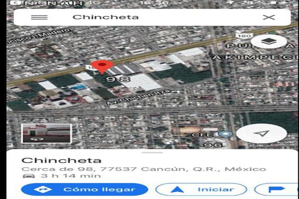 Foto de terreno habitacional en venta en  , región 98, benito juárez, quintana roo, 16808105 No. 02