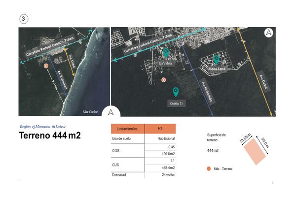 Foto de terreno habitacional en venta en región , tulum centro, tulum, quintana roo, 0 No. 02