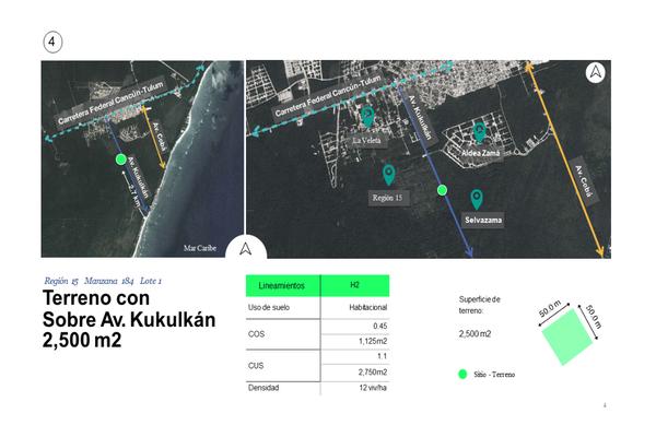 Foto de terreno habitacional en venta en región , tulum centro, tulum, quintana roo, 0 No. 04