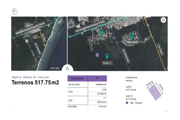 Foto de terreno habitacional en venta en región , tulum centro, tulum, quintana roo, 0 No. 05