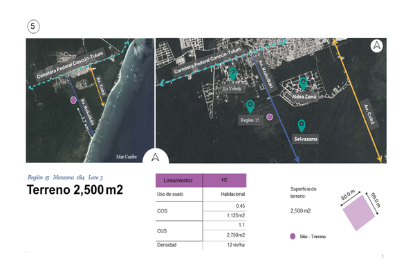 Foto de terreno habitacional en venta en región , tulum centro, tulum, quintana roo, 0 No. 06
