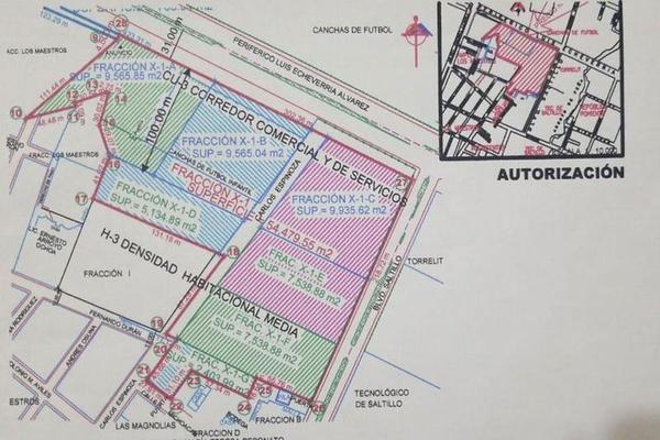 Foto de terreno comercial en venta en  , república, saltillo, coahuila de zaragoza, 8069540 No. 04