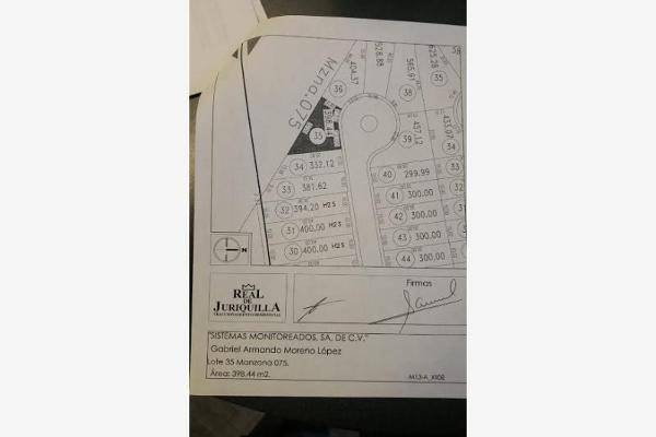 Foto de terreno habitacional en venta en reserva bonampak 0000, nuevo juriquilla, querétaro, querétaro, 9269261 No. 04