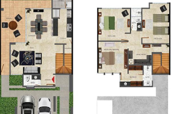 Foto de casa en venta en residencial altozano la nueva merida , xcunyá, mérida, yucatán, 14027522 No. 03