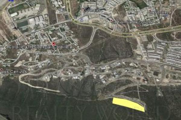 Foto de terreno habitacional en venta en  , residencial cordillera, santa catarina, nuevo león, 6504800 No. 01